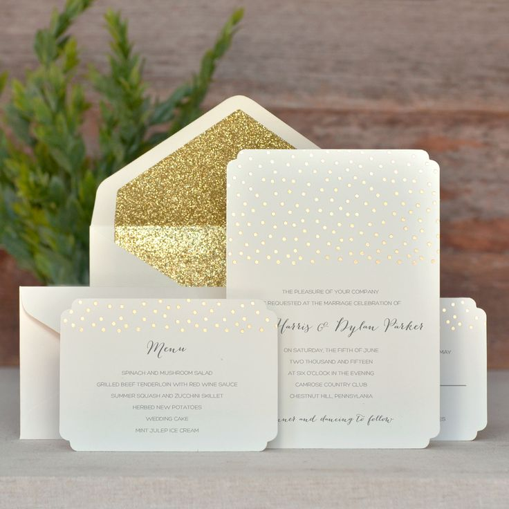 do you invite officiant to wedding reception%0A  No one will ever believe you printed these invites