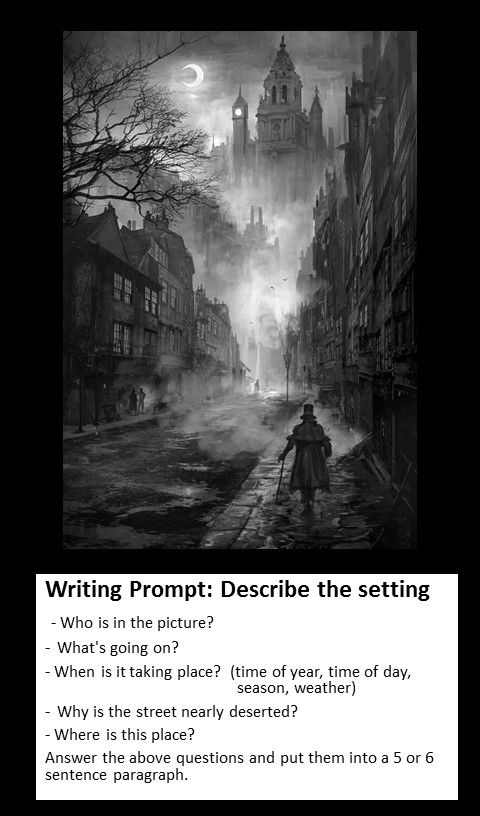 Writing Prompt: Describing a Setting