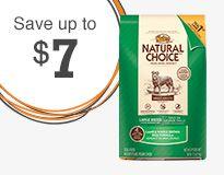 Save on select Nutro Natural Choice dog food