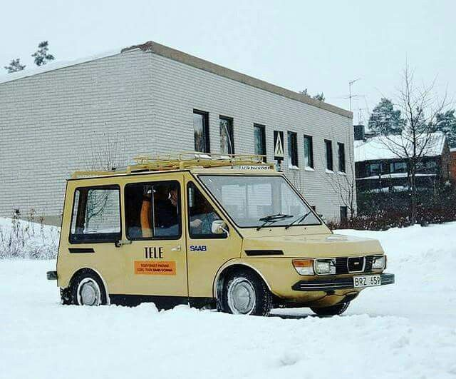 Saab electric postalcar