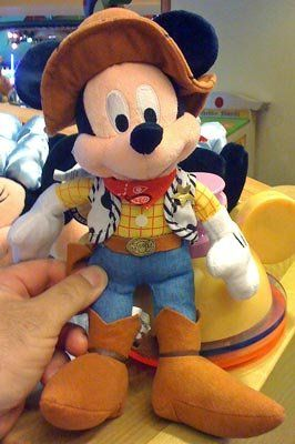 Disney Toy Story Mickey Mouse as Woody Plush Doll ** Want to know more, click on the image.