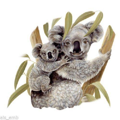TSHIRT    Koala Bear & Cub  Tshirt  229a by AlwaysInStitchesCo
