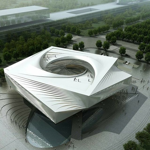 HuiZhou Museum Project Rendered by LIGHTS CG