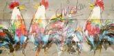 Vogel schilderijen en wanddecoratie