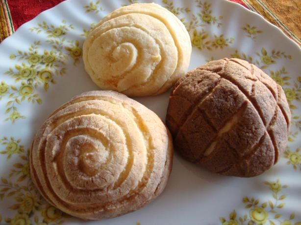 This is a great recipe for Mexican sweet bread (conchas).