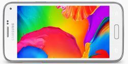El Samsung Galaxy S5 en su versión Mini mantiene la pantalla Super AMOLED. Con 4.5 pulgadas y protección Corning Gorilla Glass 3, la pantalla de este dispositivo cuenta con una resolución de 1.280×720 píxeles, lo que resulta en una densidad de 326 ppp. La matriz de píxeles utilizada en el Samsung Galaxy S5 Mini es de tipo Pentile en forma de diamante con píxeles de distintos tamaños.