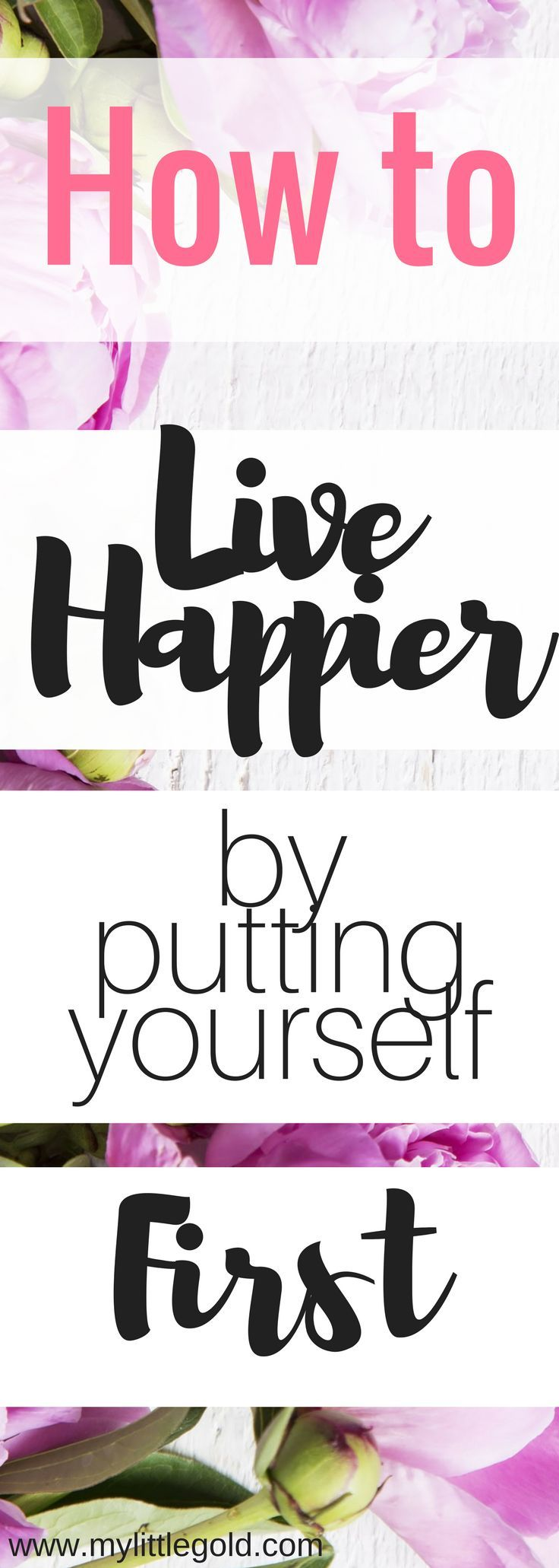 It's about time I realized I need to put myself first - check out how!