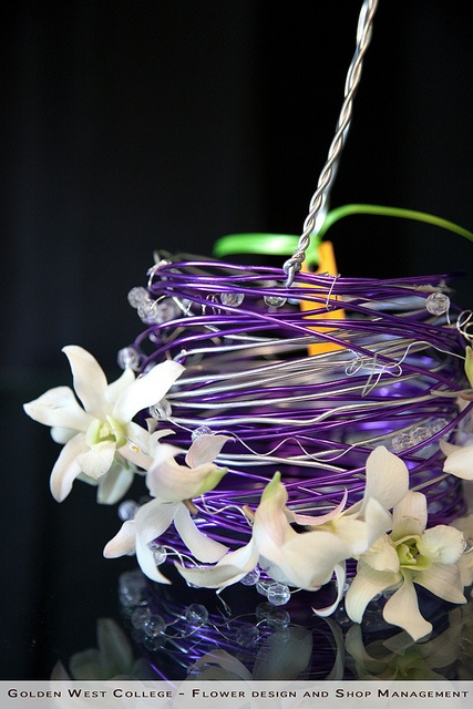 Flower girl basket by GWC Floral Design, via Flickr