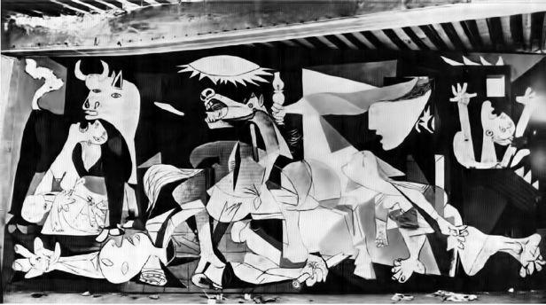 Guernica - Picasso - Fase 7 - finale