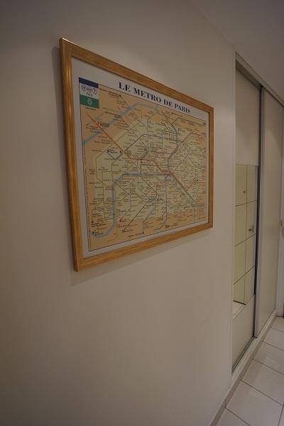 Valmy apartment Metro maps