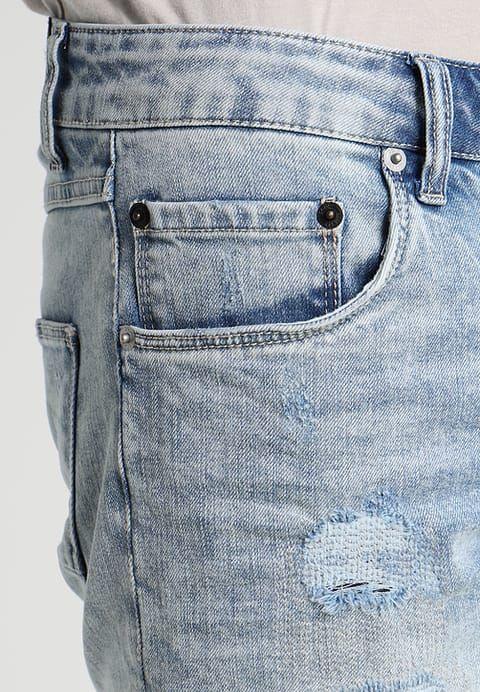 Solid JOY - Szorty jeansowe - light - Zalando.pl
