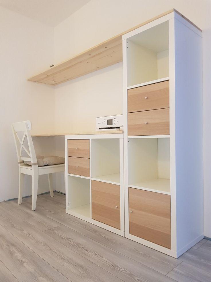 Bureau et rangement : inspiration Ikea en 2020   Maison ikea, Ikea, Espaces bureau
