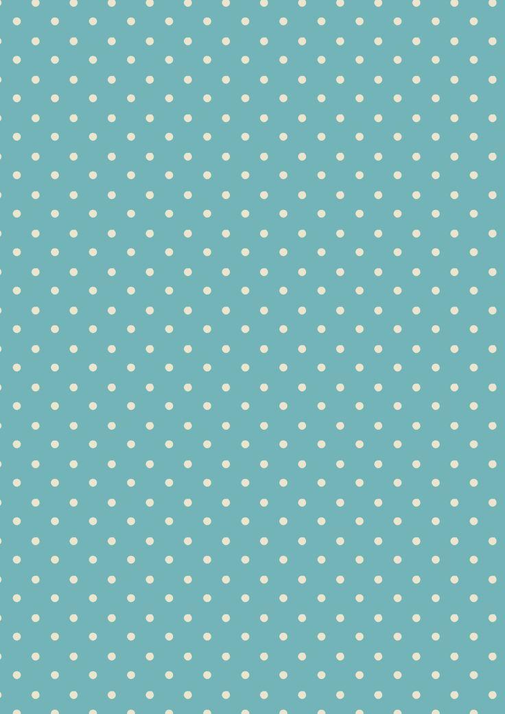 Mini Dot Turquoise | Cath Kidston classic polkadot print design