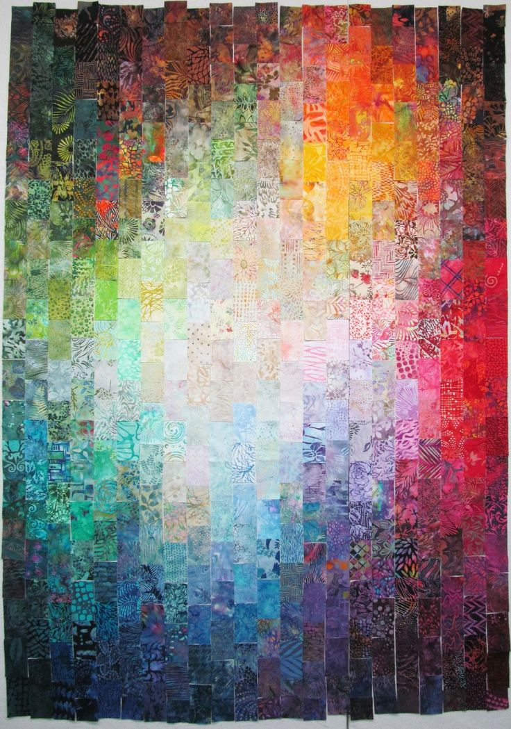 130 best Watercolor or colorwash quilts images on Pinterest ... : color wash quilts - Adamdwight.com