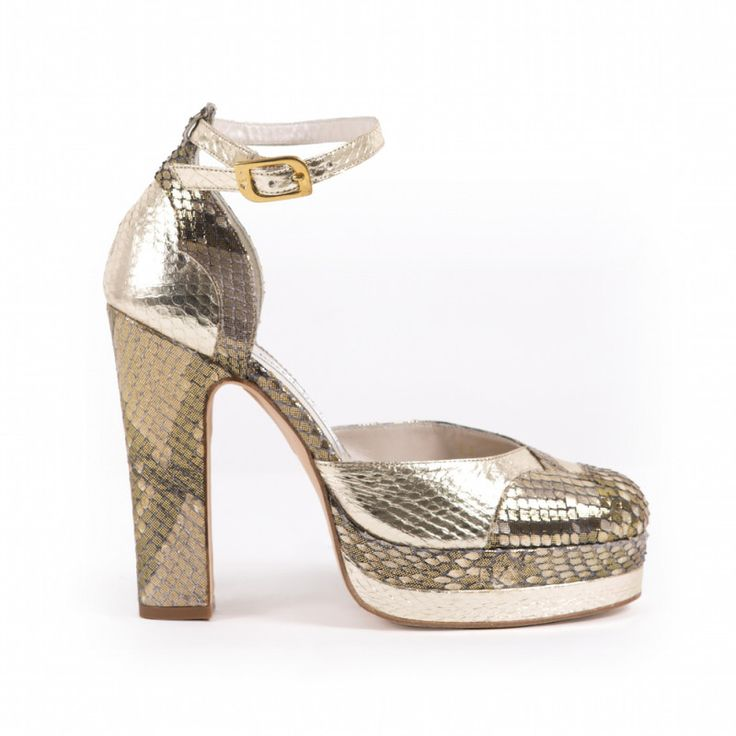 Lily Python Gold | Terry de Havilland | Official Store