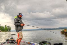 Randall Tharp and Greg Hackney choose stormy days as their favorites for bass fishing in the summer. Here's why.