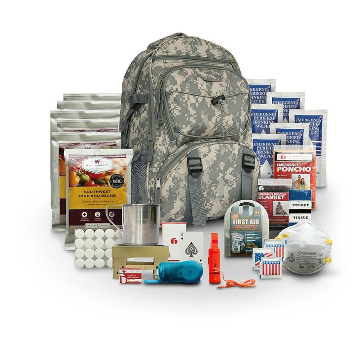 Wise™ 5-day 64-Pc. Survival Backpack