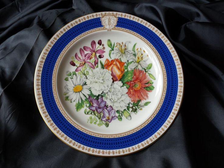 Royal Mosa collector's plate dutch Princess Juliana's 50th wedding anniversary