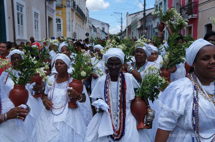 A Festa da Irmandade da Boa Morte - Sistehood of the Good Death Festival - is a world famous Afro-Brazilian tradition,  a mix of Candomblé and Catholicism organized by African slaves descendants in the countryside of Bahia, Brazil