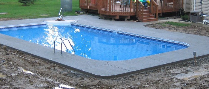 Your new inground pool kit is done!  Let Pool Warehouse help you every step of the way!