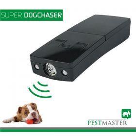 Aparatul PESTMASTER SUPER DOG CHASER se foloseste pentru indepartarea cainilor agresivi si pentru dresarea cainilor domestici.