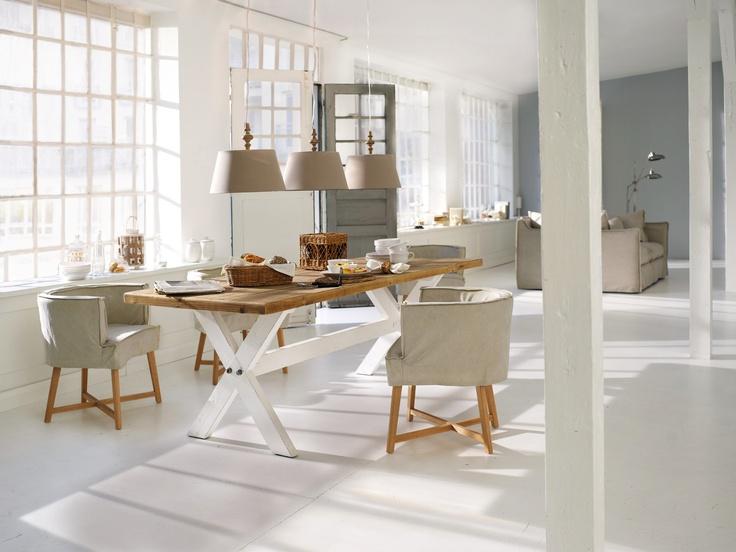 104 best images about wohnen im landhausstil on pinterest - Esszimmer Landhaus Flair