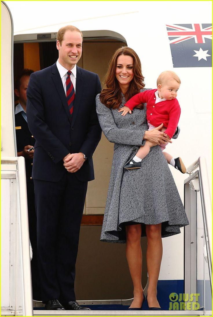 Kate middleton prince william prince george say goodbye to australia photo prince william and catherine duchess of cambridge aka kate middleton