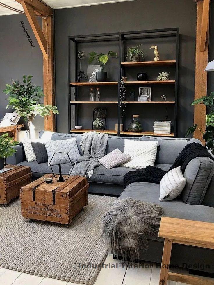 20 Diy Industrial Design Ideas Furniture Design Living Room Home Decor Furniture Design