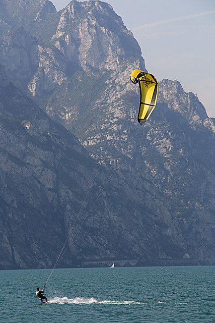 Kite-Surfing - Lake Garda, Italy