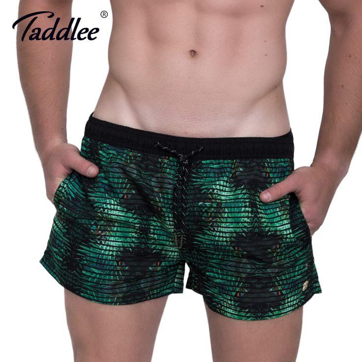 Taddlee Brand Men Beach Board Shorts Active Jogger Quick Dry Plus Size Boxer Trunks Men's Swimwear Swimsuits Boardshorts