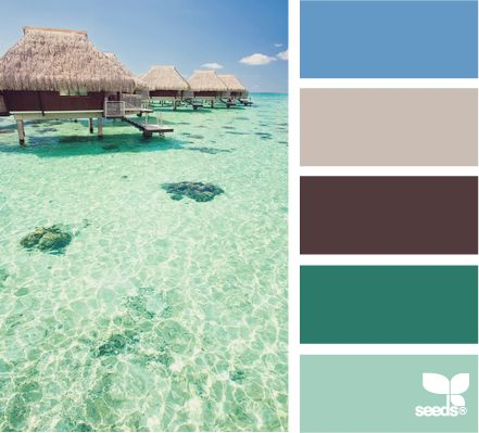 17 best images about beach wedding color schemes on Paint colors for calming effect