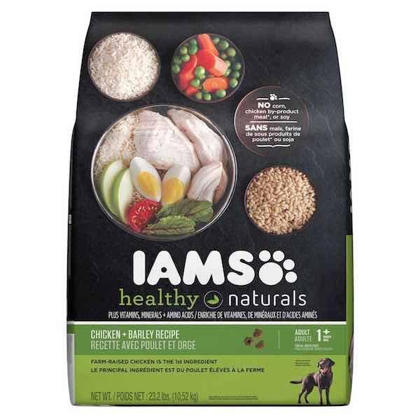 Iams Healthy Naturals Dog Food Coupons