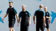 Lionel Messi de retour à l'entraînement du Barça (VIDÉO)