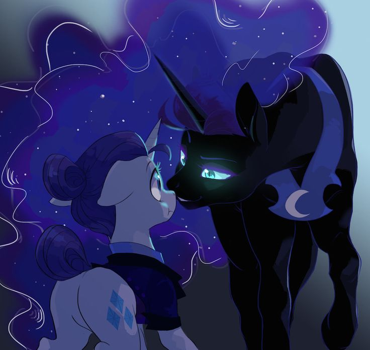NightmareMoonXRarity by kilala97.deviantart.com on @DeviantArt