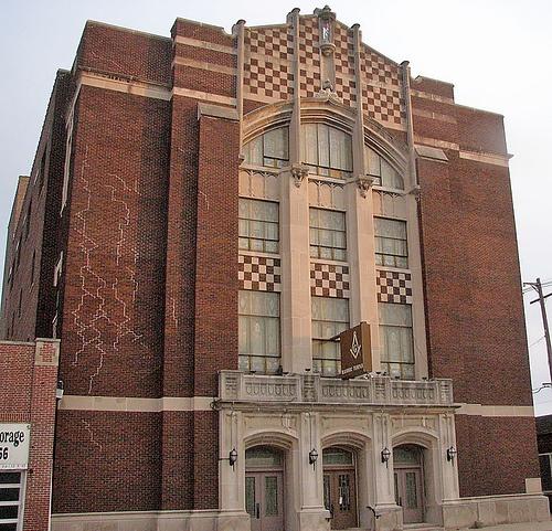 Masonic Temple Building Denver Colorado: Masonic Temple Danville IL