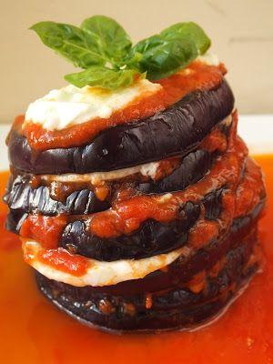 Baklazan z mozzarella