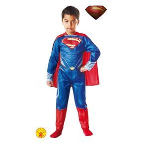 Disfraz de superman oficial y con licencia. Este disfraz de superman es el de la pelicula el hombre de acero, el disfraz viene impreso y con capa. Con este disfraz de superman el exito esta garantizado entre los mas pequeños. http://www.disfracessimon.com/disfraces-superheroe-infantil/3867-disfraz-de-superman-hombre-de-acero-para-nino.html