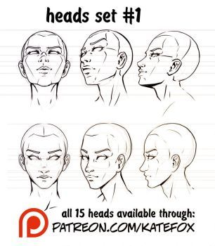 Tutorials, steps and sketches by Kate-FoX on DeviantArt