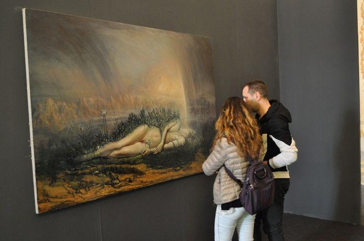 #Massa - #Arte. La mostra allestita a Palazzo #Ducale continua fino al 21 maggio. Dall'inaugurazione ad oggi, oltre i mille i visitatori di #Urpflanze: la natura dell'idea
