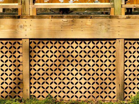 Fence Panel Wall
