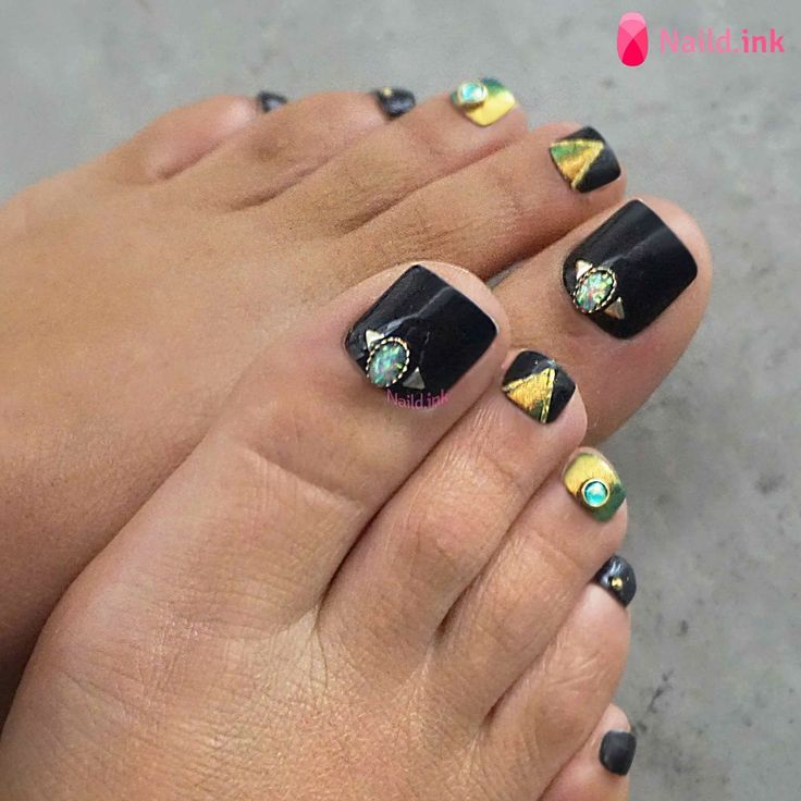 56 Adorable Toe Nail Designs For Summer 2017 - 39 Best Pedicures Images On Pinterest Nail Designs, Beach And Black