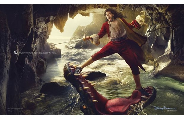 Annie Leibowitz photos Russell Brand as Captain Hook