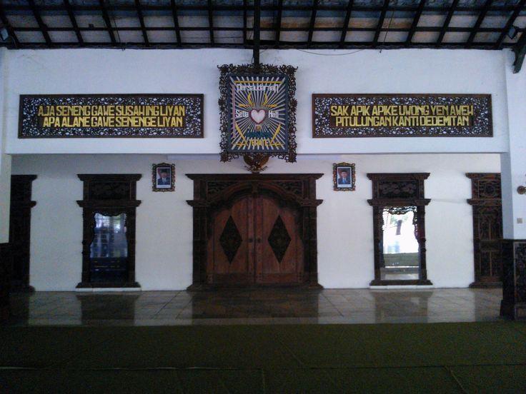 Graha Wiratama *Padepokan Agung Setia Hati terate Pusat Madiun