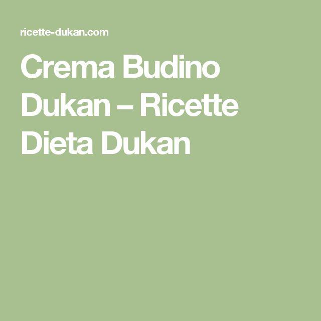 Crema Budino Dukan – Ricette Dieta Dukan