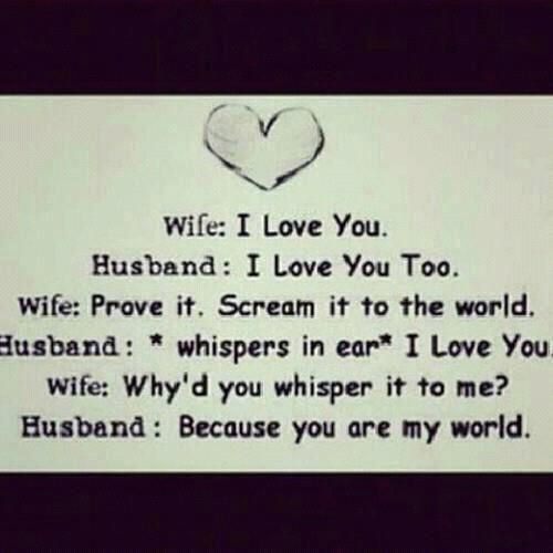 Because you are my world  Follow best love quotes for more great quotes!