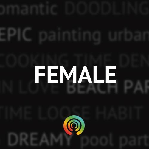 Check out female, headphones preferred, the louder the better!                                  via Stereomood