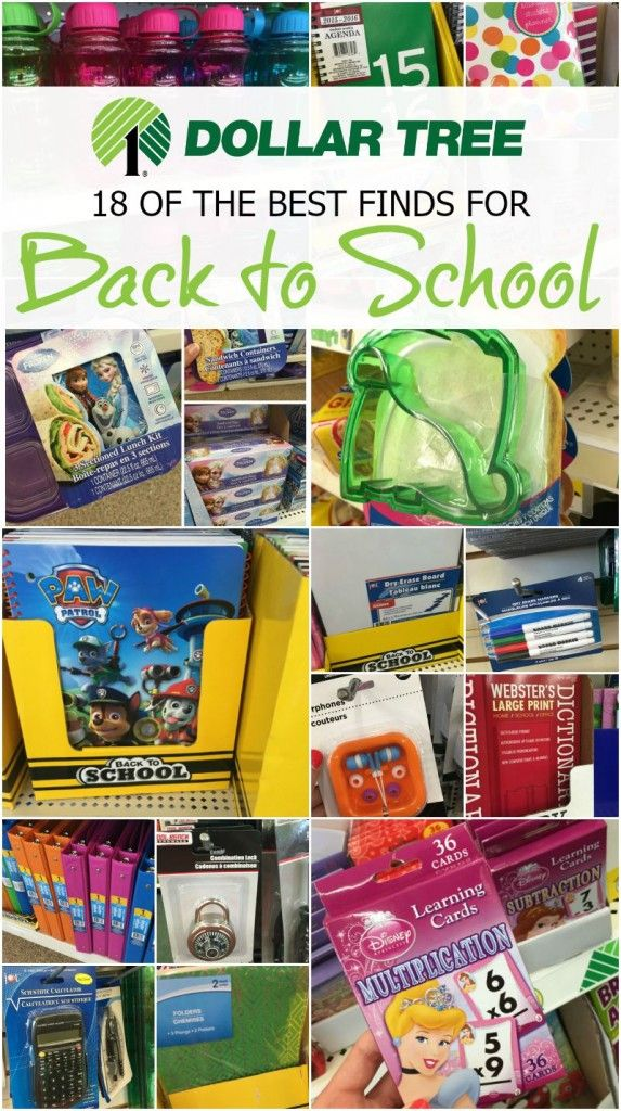 Dollar tree back to school deals! Saving Money Deals and Tips for getting the best prices and back to school hacks!