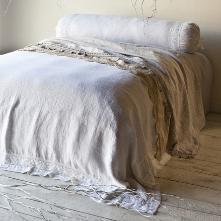 beautiful finishes like linen bedding