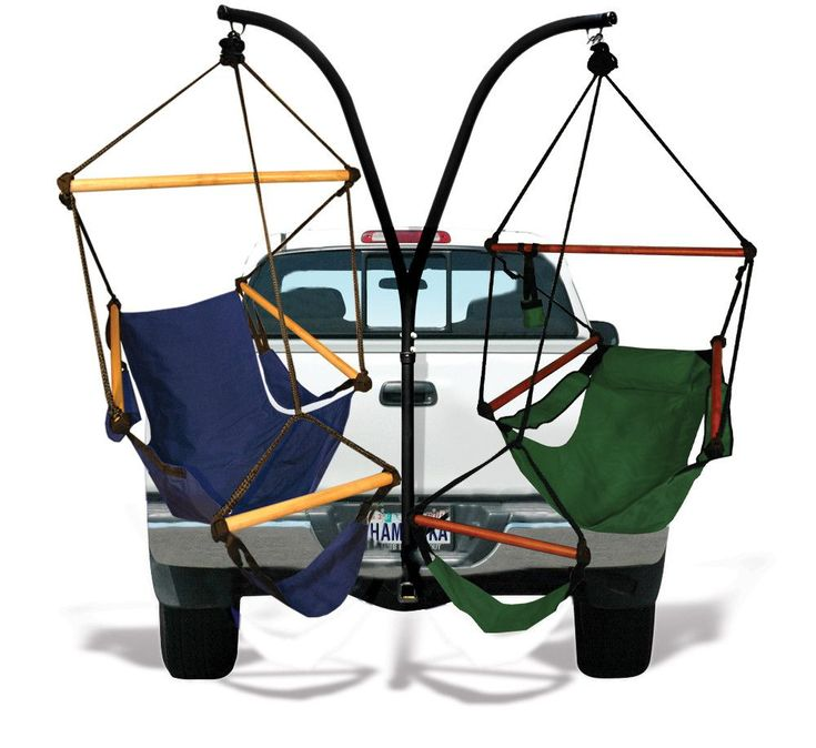 HAMMAKA TRAILER HITCH STAND AND CRADLE/HAMMOCK CHAIR COMBO
