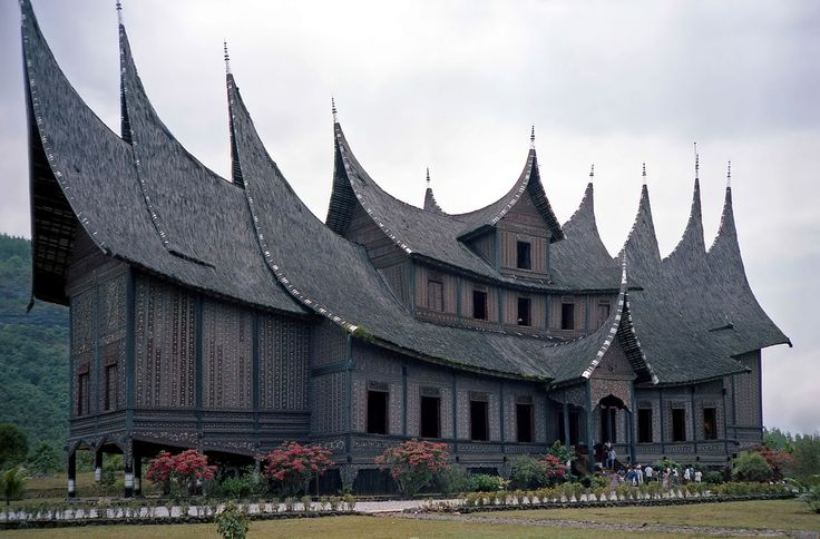 Minangkabau Royal Palace in Sumatra, Indonesia. See http://en.wikipedia.org/wiki/Pagaruyung_Kingdom.